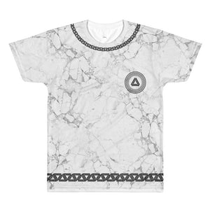 Marble & Chains T-shirt - Unisex - Alpha Mob