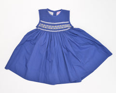Blue smock dress by Charmy Charmy