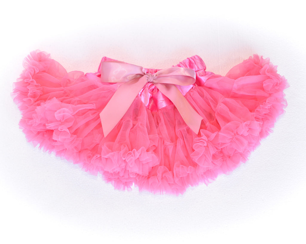 Cotton candy hot pink tutu skirt by Charmy Charmy