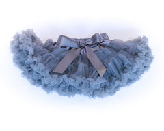 Cotton candy grey tutu skirt by Charmy Charmy