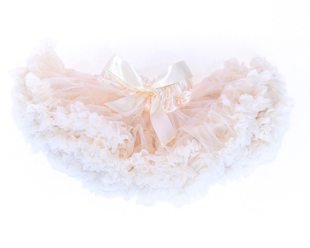 Cotton candy ivory tutu skirt by Charmy Charmy