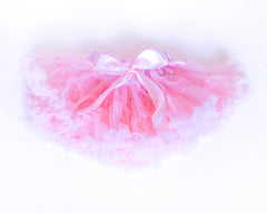 Cotton candy pink tutu skirt by Charmy Charmy
