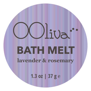 BATH MELT - lavender & rosemary