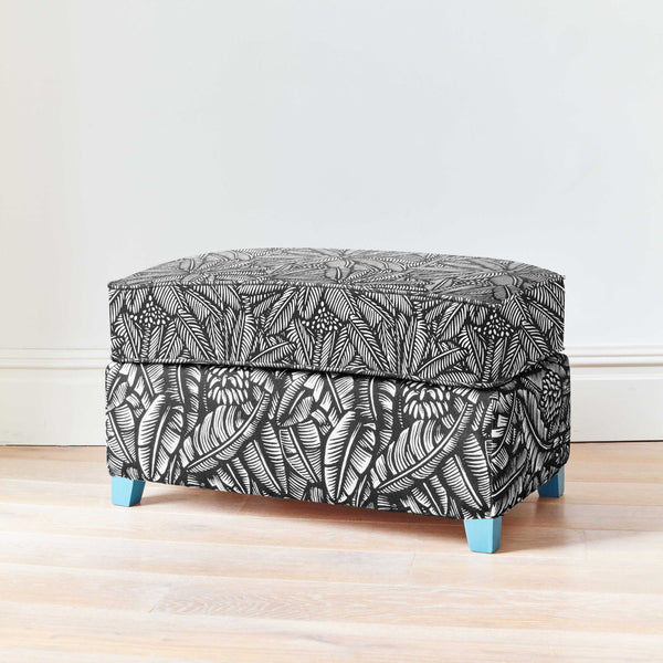 Palm Beach Footstool
