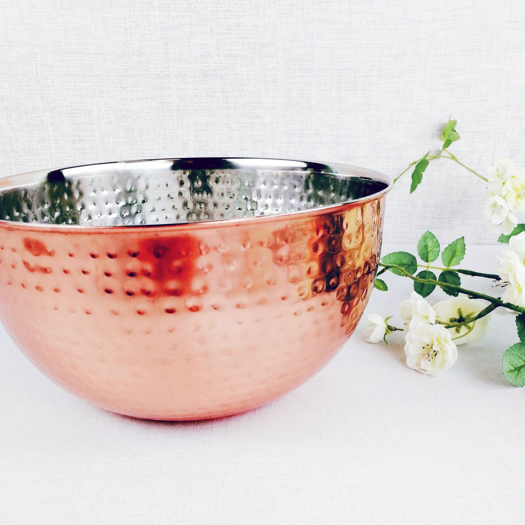 Hammered Copper-style Bowl