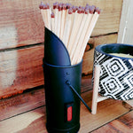 Cute Metal Matchstick Holder