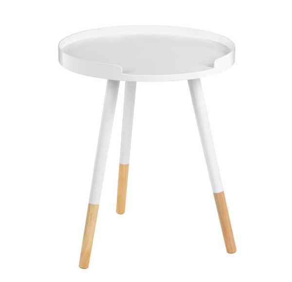 Contemporary Round Side Table