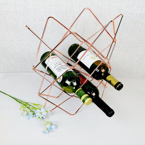 Copper wine rack wire