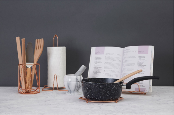 Copper Cook Book Stand