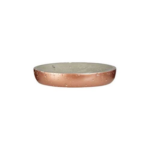 Coral Copper Soap Dish
