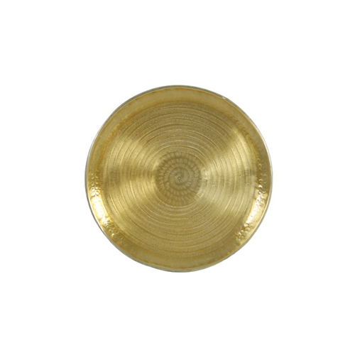 Fortitudo Gold Decorative Dish - 38cm