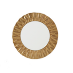 Gold Geometric Wall Mirror