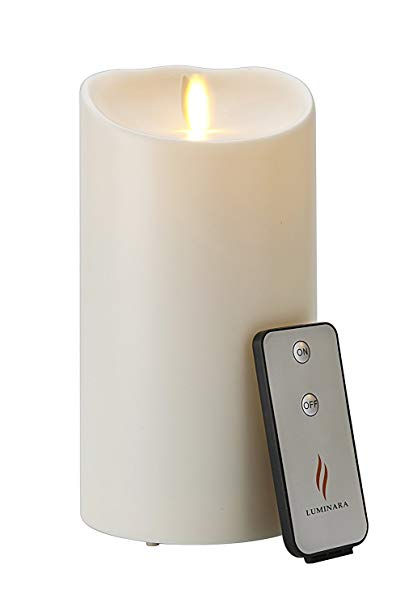 Luminara outdoor single candle with remote control