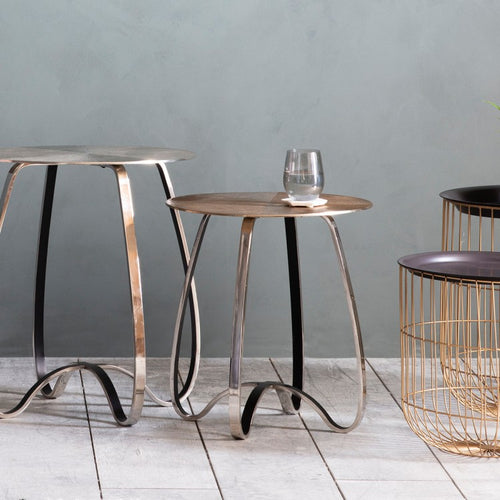 Mantra Side Table Gold