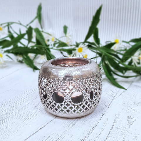 Acier Shaped Wire Tea Light Holder