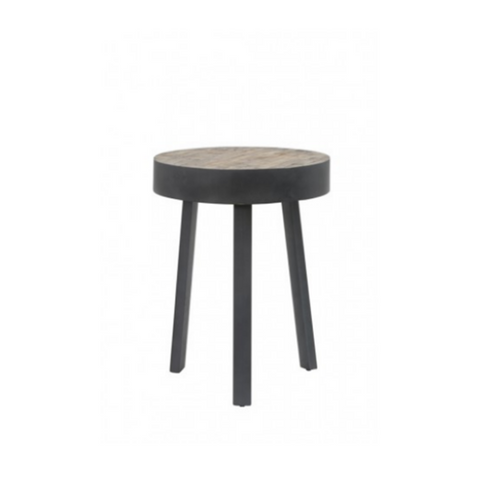 Round Modern Decorative Metal Table