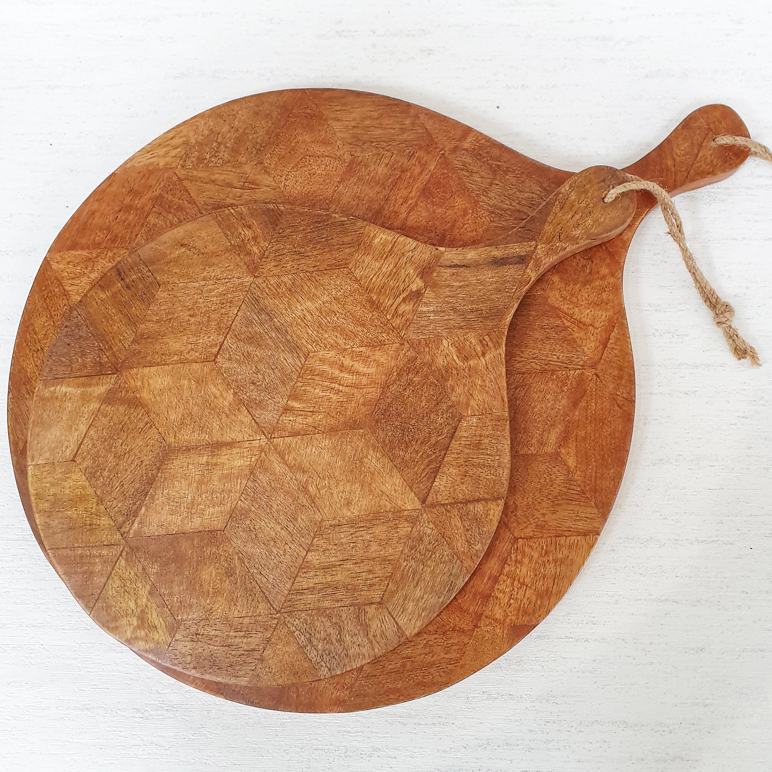 Wooden Patterned Serving and Chopping Boards
