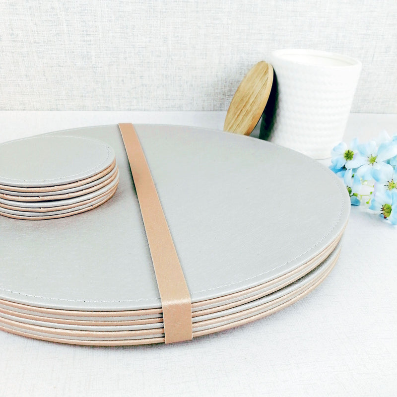 Reversible Placemat and Coaster Set Bundle