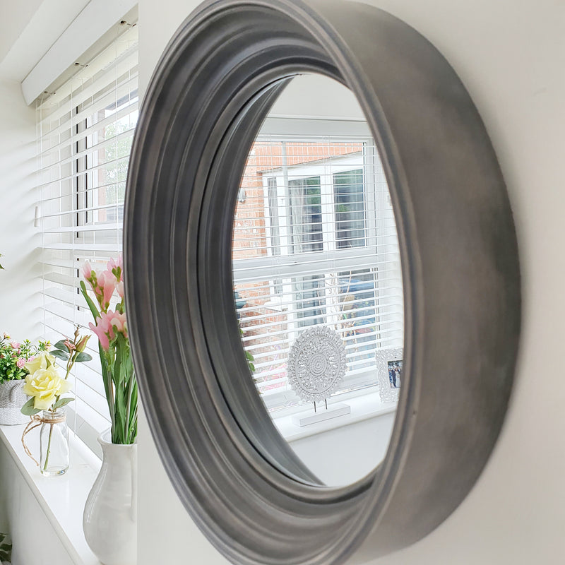Umbra Deep Edge Grey Wall Mirror