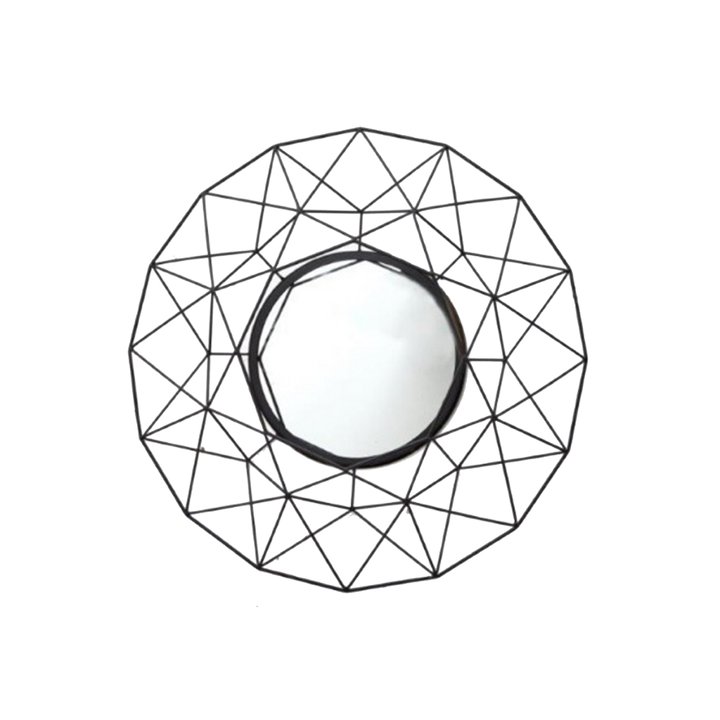 Geometric Wire Mirror