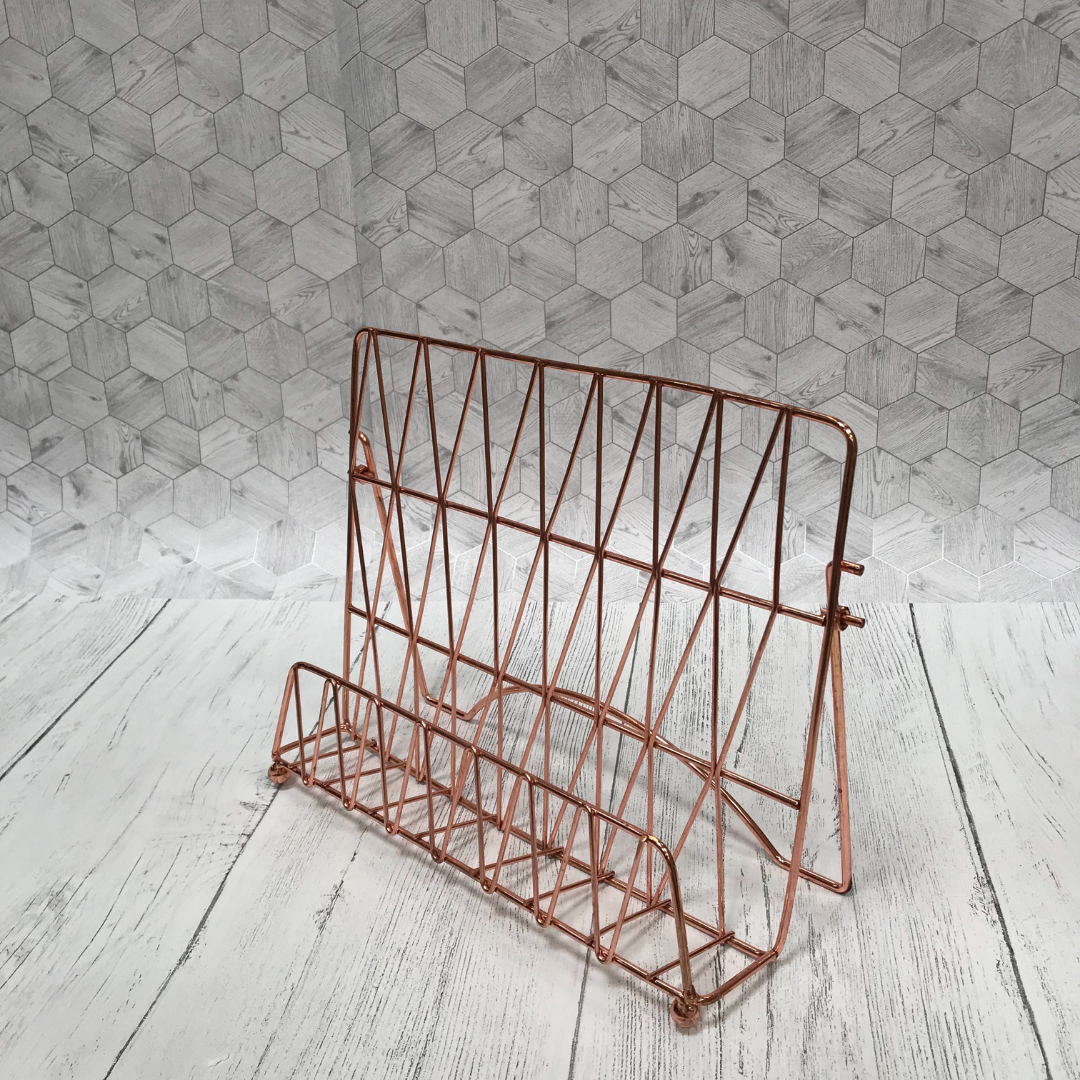 Copper Recipe Book Stand