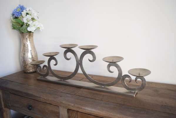 Six Piece Candle Holder