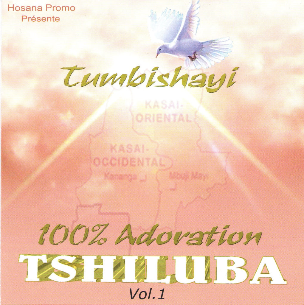 100% Adoration Tshiluba Vol.1 - CD