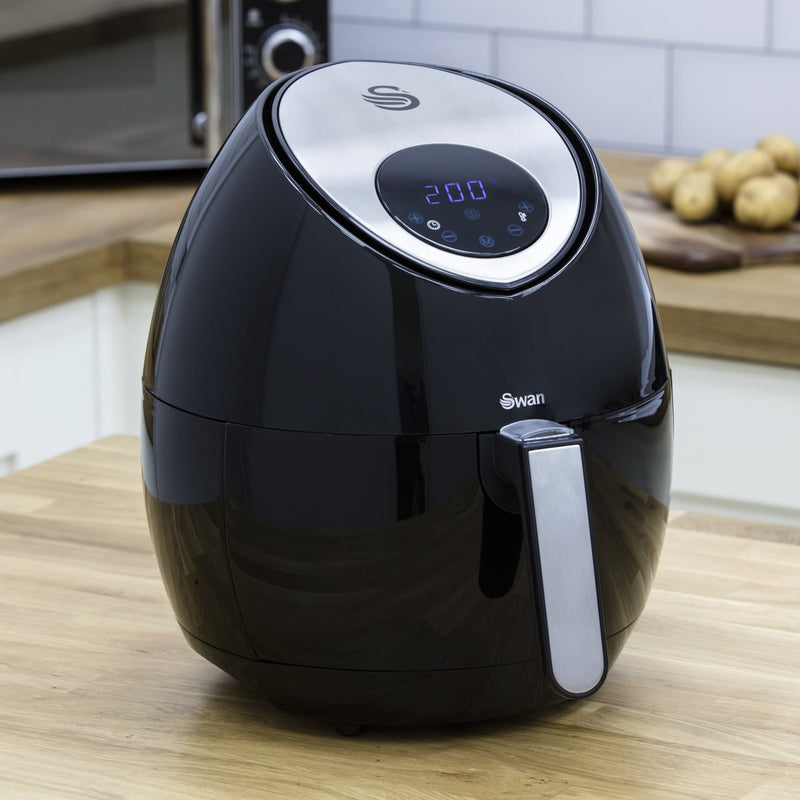 Swan 3.2L Low Fat Digital Healthy Air Fryer
