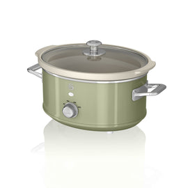 Swan 3.5L Retro Slow Cooker