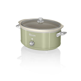 Swan 6.5L Slow Cooker Retro