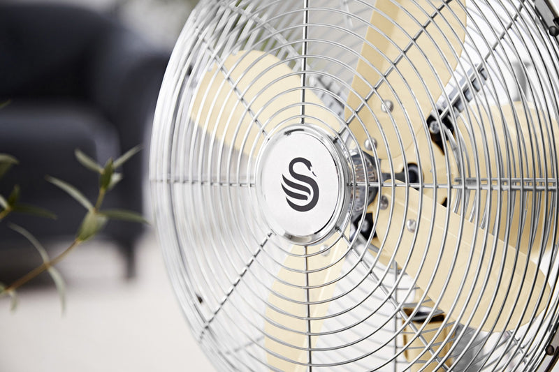 Swan Retro 12 Inch Desk Fan