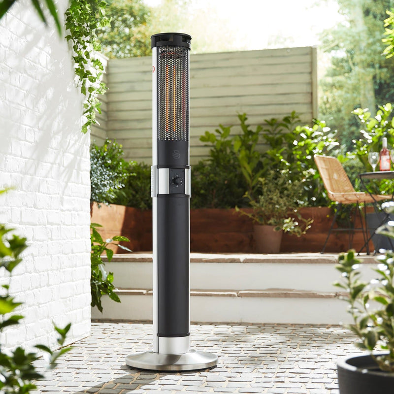 Swan Column Patio Heater