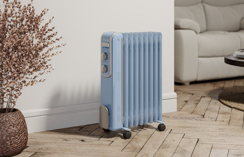 Swan 9 Finned Oil Filled Radiator