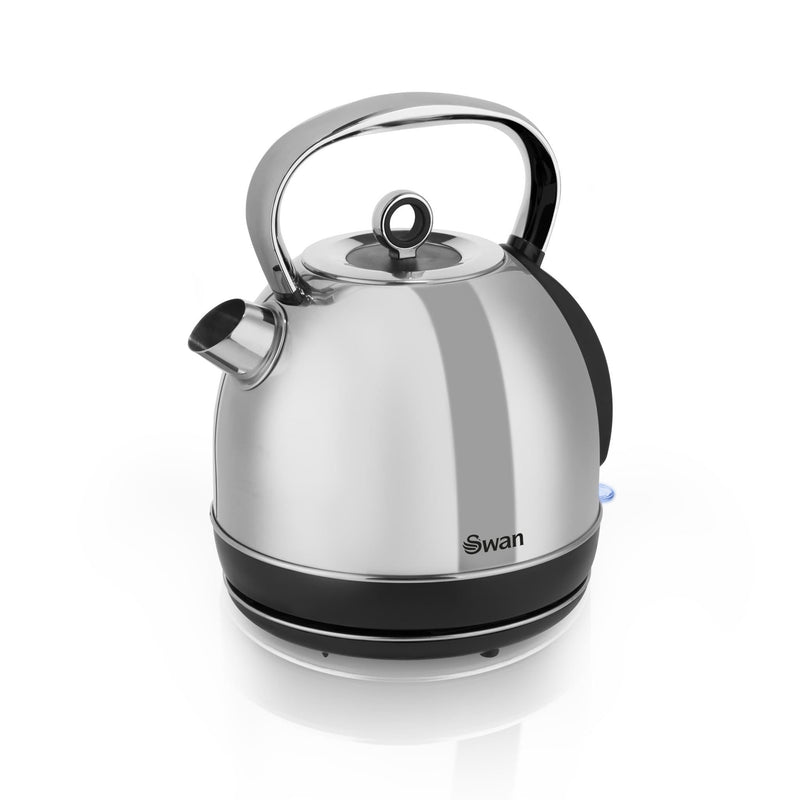 Swan 1.7L Polished Stainless Steel Dome Kettle