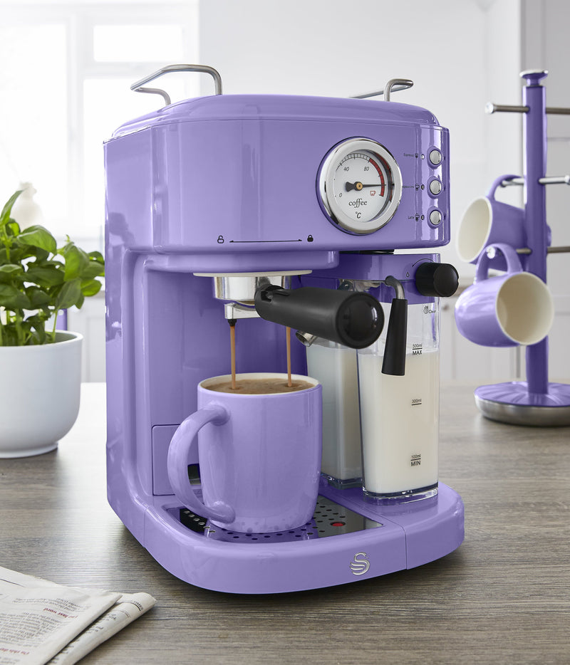 Swan Retro One Touch Espresso Machine