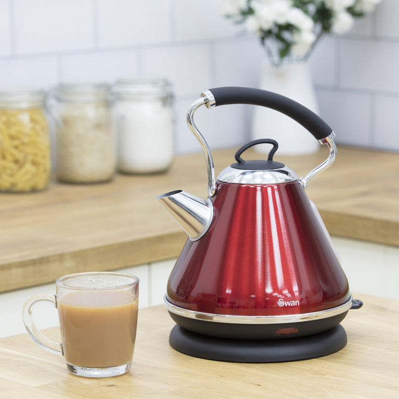 Swan 1.7 Litre Pyramid Kettle