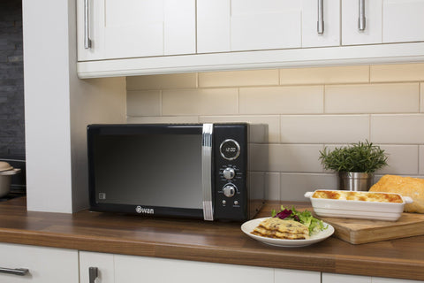 Swan Retro 25L Digital Combi Microwave with Grill