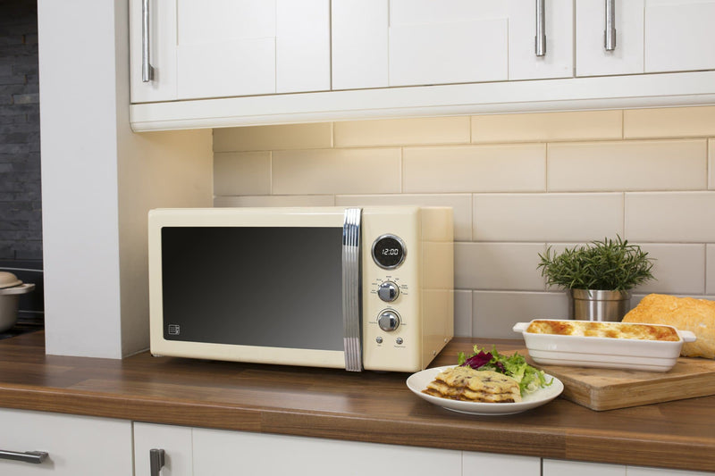 Swan Retro 25L Digital Microwave