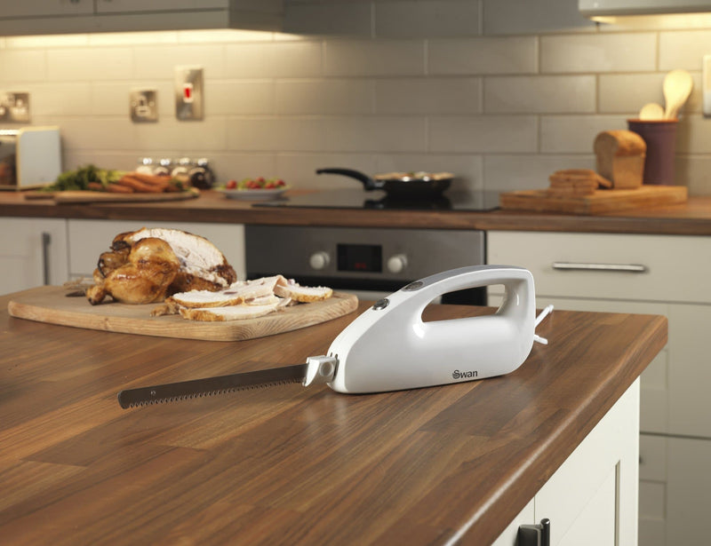 Swan 120W Electric Carving Knife