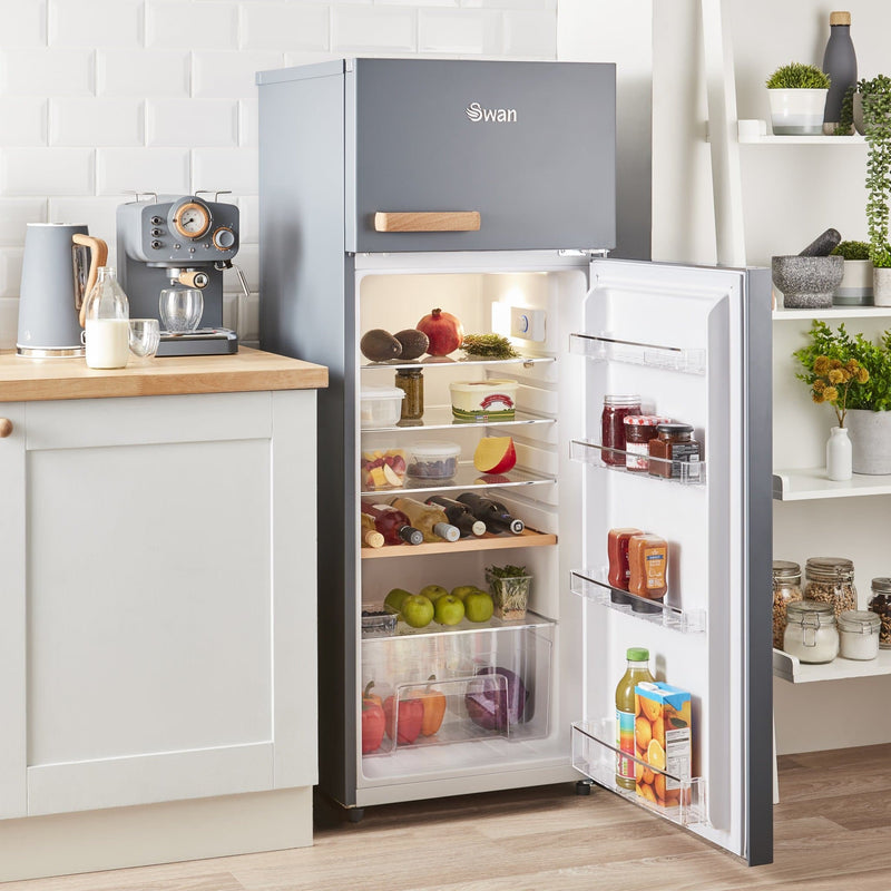 Swan Nordic Top Mounted Fridge Freezer