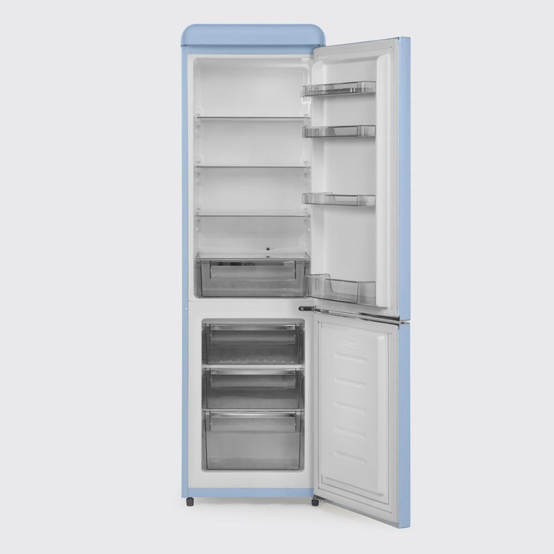 Swan Retro Slimline Fridge Freezer