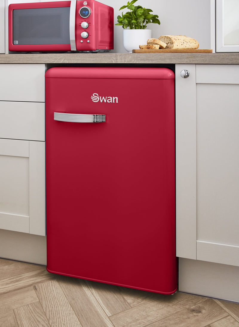 Swan Retro Under Counter Fridge
