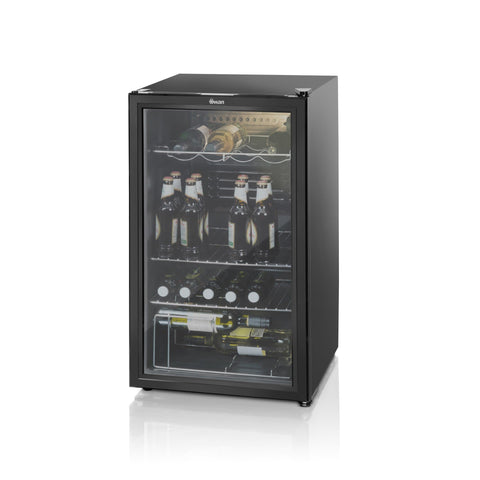 Swan Glass Fronted Undercounter Fridge