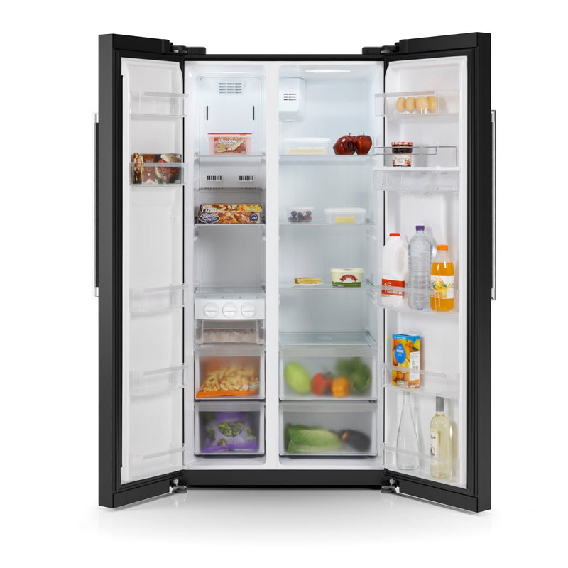 Swan American Style Fridge Freezer with Ice Maker