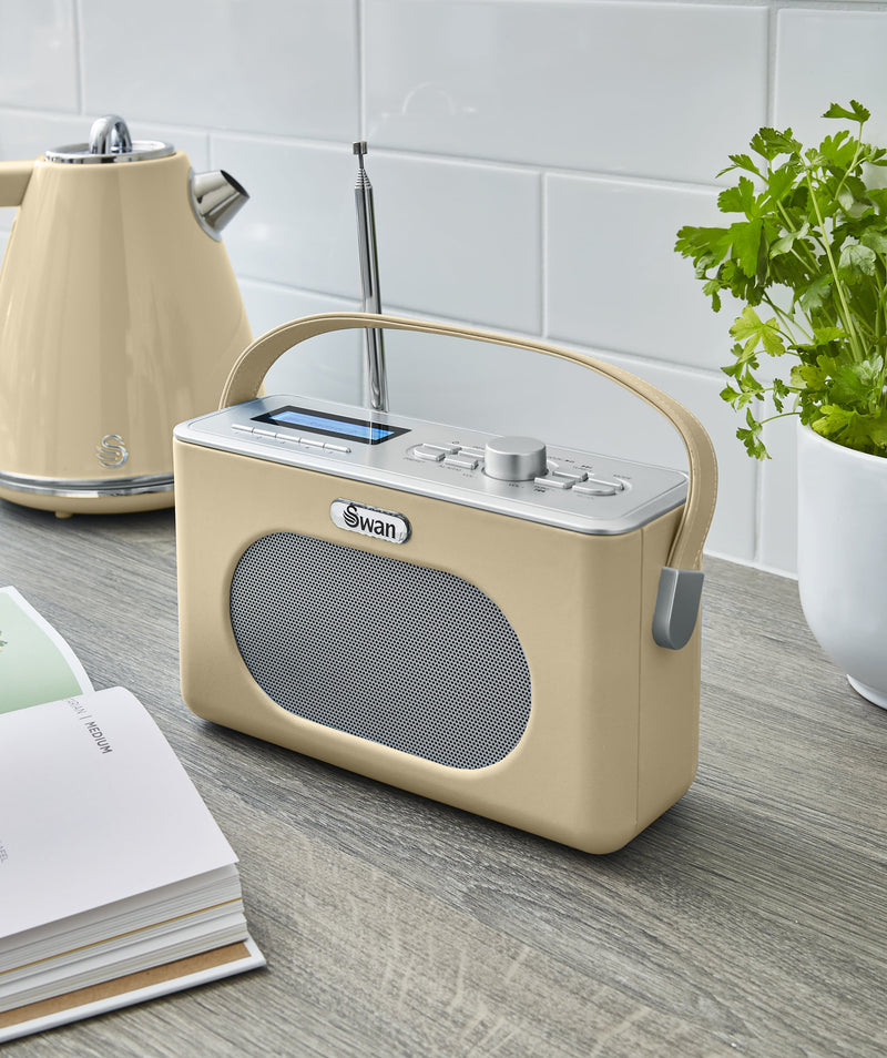 Swan Retro DAB Bluetooth Radio