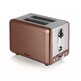 Swan 2 Slice Copper Toaster