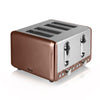 Swan 4 Slice Copper Toaster