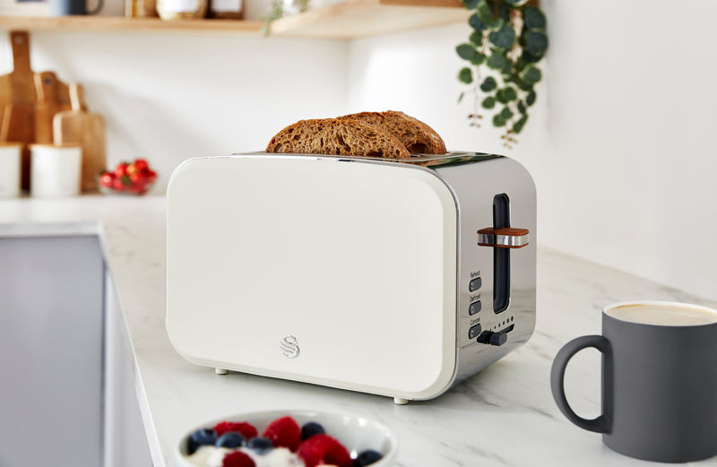 Swan 2 Slice Nordic Style Toaster