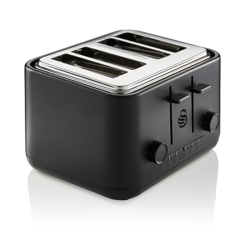 Swan Stealth 4 Slice Toaster
