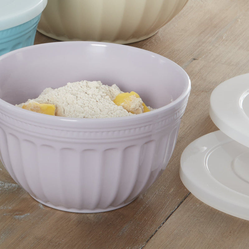 Fearne by Swan Set of 4 Mixing Bowls with Lid